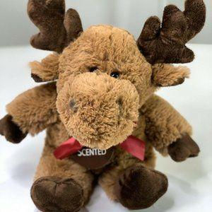 """Dan Dee, Plush Chocolate Scented Brown Moose, 13"""""""
